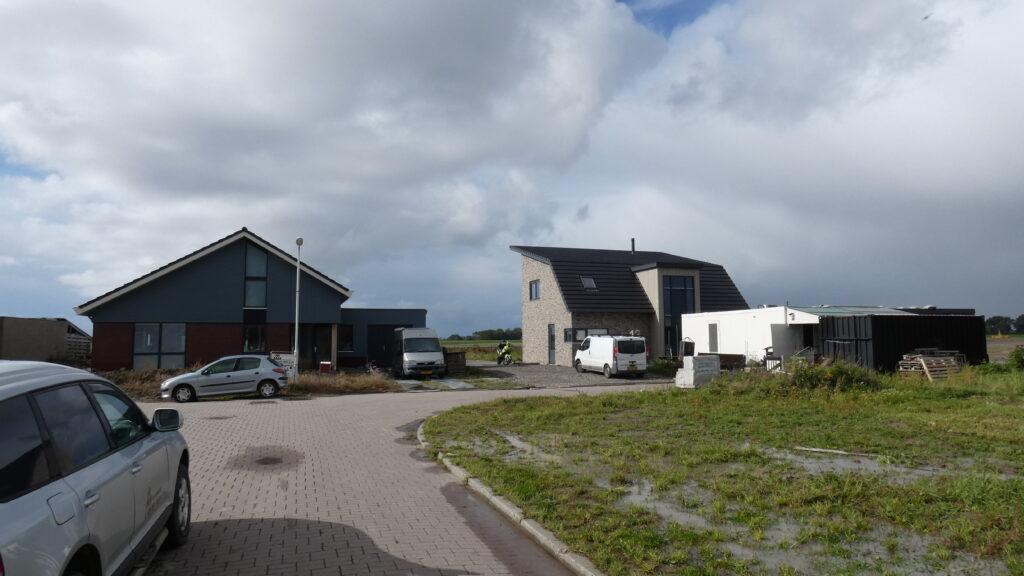 Nieuwbouwwoningen op 't Putstik in Nij Altoenae